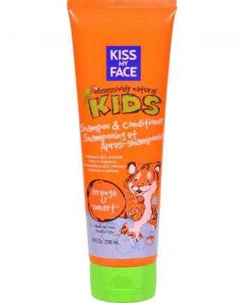 Kiss My Face Kids Shampoo and Conditioner Orange U Smart - 8 fl oz
