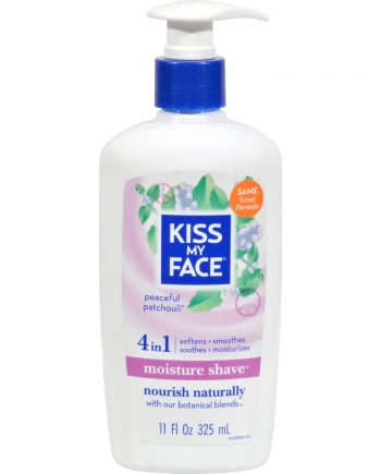 Kiss My Face Moisture Shave Peaceful Patchouli - 11 fl oz