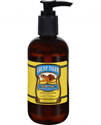 Lucky Tiger Shampoo and Body Wash - Head to Tail - 8 oz