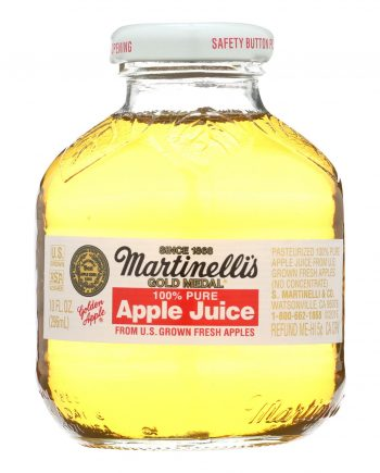 Martinelli's Apple Juice - Case of 24 - 10 Fl oz.