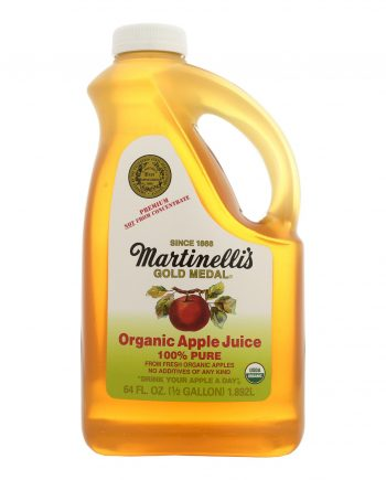 Martinelli's Organic Apple Juice - Case of 6 - 64 Fl oz.
