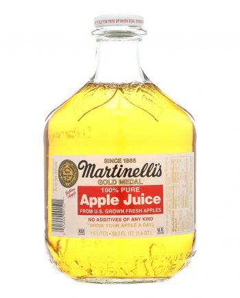 Martinelli's Sparkling Juice - Apple and Grape - Case of 6 - 50.7 Fl oz.
