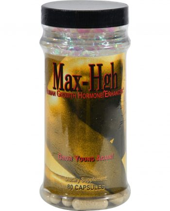 Maximum International Max-High Human Growth Hormone Enhancer - 80 Capsules
