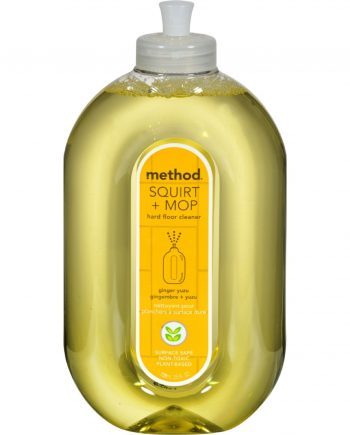Method Products Hard Floor Cleaner - Squirt and Mop Ginger Yuzu - 25 oz - Case of 6