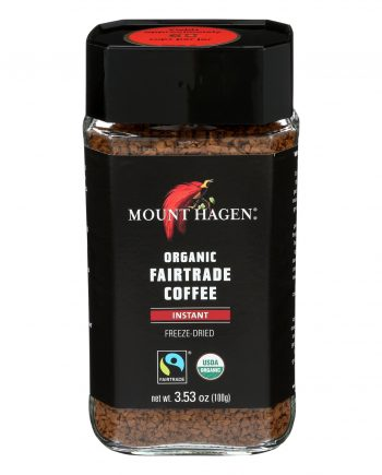 Mount Hagen Organic Instant Coffee - Coffee - Case of 6 - 3.53 oz.
