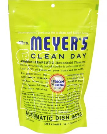 Mrs. Meyer's Auto Dishwash Packs - Lemon Verbena - 12.7 oz