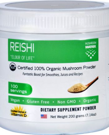 Mushroom Matrix Reishi - Organic - Powder - 7.14 oz