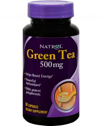 Natrol Green Tea - 500 mg - 60 Capsules
