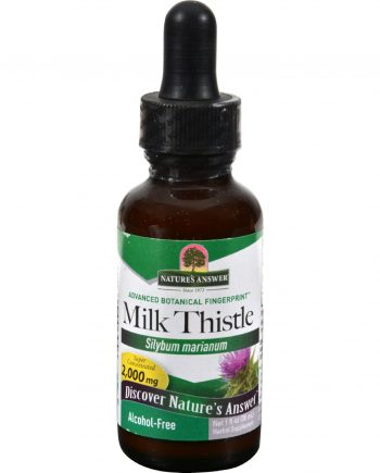 Nature's Answer Milk Thistle Seed Alcohol Free - 1 fl oz