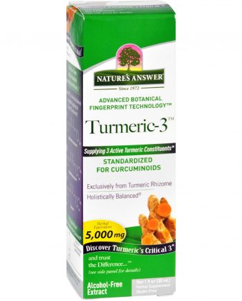Natures Answer Turmeric-3 - Liquid - 1 oz