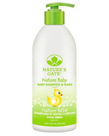 Nature's Gate Baby Shampoo and Wash - 18 fl oz