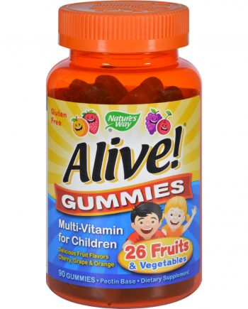 Nature's Way Alive Gummies Multi-Vitamin for Children Natural Cherry
