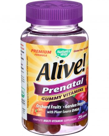 Nature's Way Alive Multi Vitamin - Prenatal - Gummy - 75 Count