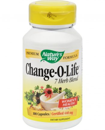Nature's Way Change-O-Life 7 Herb Blend - 100 Capsules