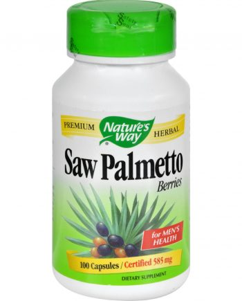 Nature's Way Saw Palmetto Berries - 100 Capsules