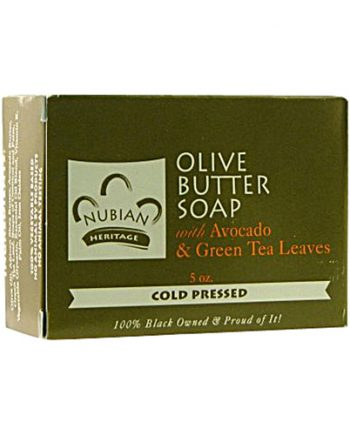 Nubian Heritage Bar Soap Olive Butter - 5 oz
