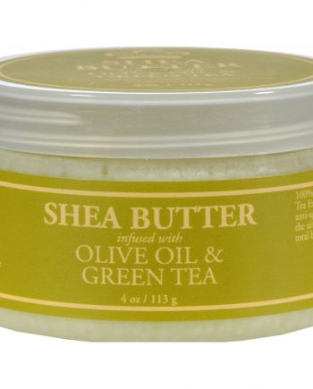 Nubian Heritage Shea Butter Infused With Olive Oil And Green Tea Extract - 4 oz