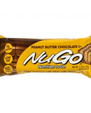 Nugo Nutrition Bar - Peanut Butter Chocolate - Case of 15 - 1.76 oz