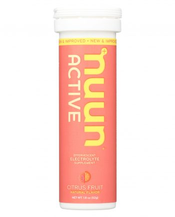 Nuun Hydration Nuun Active - Citrus Fruit - Case of 8 - 10 Tablets