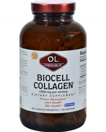 Olympian Labs Biocell Collagen - 1500 mg - 300 Capsules