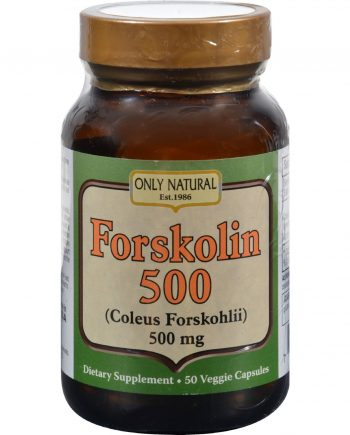 Only Natural Forskolin Extract - 50 Vcaps