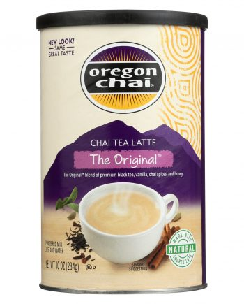 Oregon Chai Original Chai - Powdered Mix - Case of 6 - 10 oz.