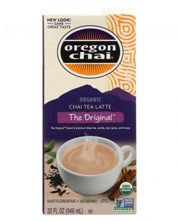 Oregon Chai Tea Latte Concentrate - The Original - Case of 1 - 32 Fl oz.