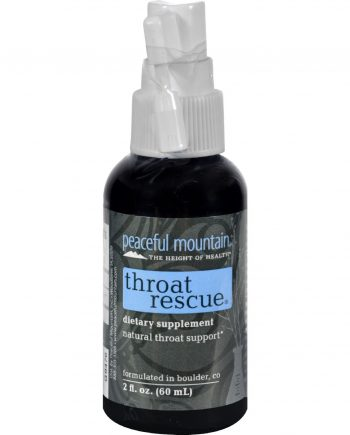 Peaceful Mountain Throat Rescue Spray - 2 fl oz