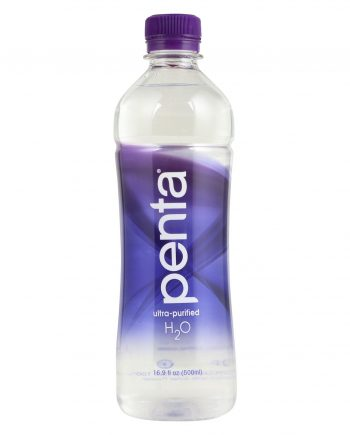 Penta Purified Water Ultra Purified Water - Case of 24 - 16.9 Fl oz.
