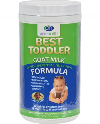 Perfectly Healthy Toddler Goat Milk Formula Chocolate - 16 oz