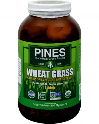 Pines International Wheat Grass - 500 mg - 1400 Tablets