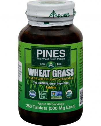 Pines International Wheat Grass - 500 mg - 250 Tablets