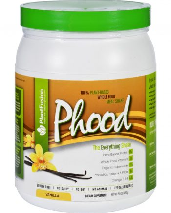 PlantFusion Phood Shake - Powder - Vanilla - 15.9 oz