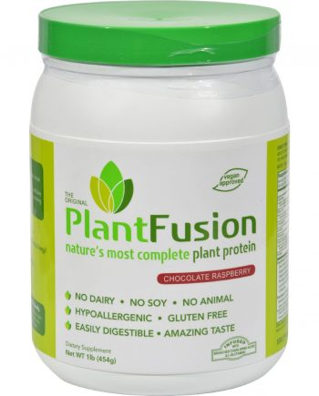Plantfusion Nature's Most Complete Plant Protein - Chocolate Raspberry - 1 Lb.