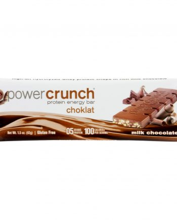 Power Crunch Bar - Chocolate Milk - Case of 12 - 1.4 oz