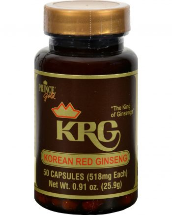Prince of Peace Korean Red Ginseng - 50 Capsules