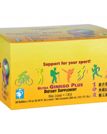 Prince of Peace Ultra Ginkgo Plus Endurance Formula - 30 Vials
