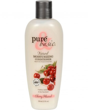 Pure and Basic Moisturizing Natural Conditioner Cherry Almond - 12 fl oz