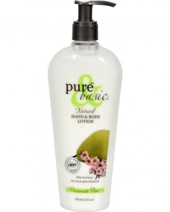 Pure and Basic Natural Bath And Body Lotion Passionate Pear - 12 fl oz