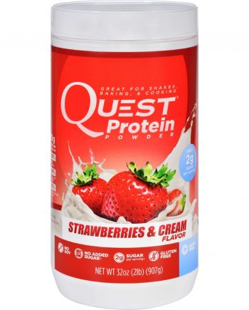 Quest Protein Powder - Strawberries and Cream - 2 lb