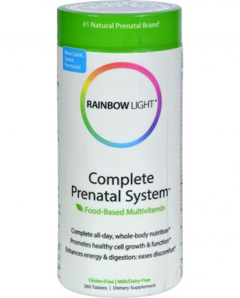 Rainbow Light Complete Prenatal System - 360 Tablets