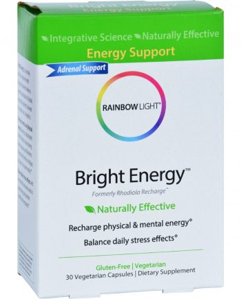 Rainbow Light Remedies for Wellness - Bright Energy - 30 Tablets