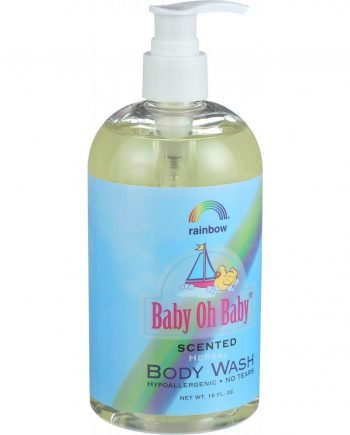 Rainbow Research Baby Oh Baby Herbal Body Wash - Scented - 16 oz