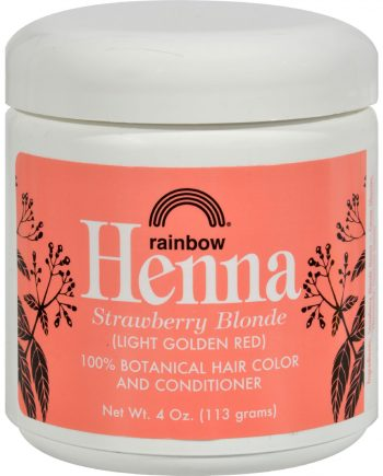 Rainbow Research Henna Hair Color and Conditioner Persian Strawberry - 4 oz
