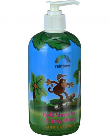 Rainbow Research Kids Shampoo and Body Wash - Goin Coconuts - 12 oz