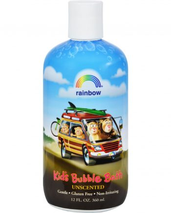 Rainbow Research Organic Herbal Bubble Bath For Kids Unscented - 12 fl oz