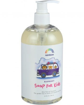 Rainbow Research Soap For Kids - Raspberry - 16 oz