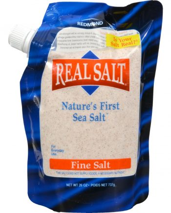 Real Salt Fine Salt - 26 oz