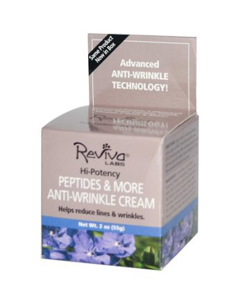 Reviva Labs Peptides and More Anti-Wrinkle Cream - 2 oz
