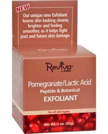 Reviva Labs Pomegranate Lactic Acid Exfoliant - 2 oz